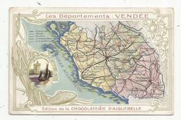 JC , Chromo , Chocolaterie D'AIGUEBELLE , Les Départements : VENDEE - Aiguebelle