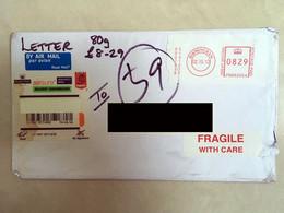 Great Britain GB Private Cover Registered Label 2012 No Stamps - 1952-.... (Elizabeth II)