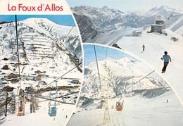 La FOUX D'ALLOS - Vues Multiples - Ski - Télébenne, Télécabine - Observatoire - France