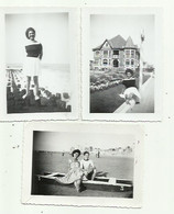 Knokke - - Le Zoute - 1949 - 3 Fotos - Knokke