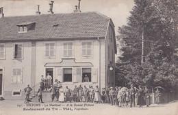 90 - BELFORT. - Le Martinet - A La Bonne Friture- Restaurant Du Tir - VIAL, Propriétaire - Belfort - City