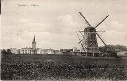 CESIS - MULINO A VENTO - WENDEN ZEHSIS - FORMATO PICCOLO - VIAGGIATA 1911 - (rif. F31) - Latvia