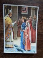 L29/119 Chromo Image Chocolat Klaus . Mariage De Philippe II Auguste Et Isabelle De Hainaut - Schokolade