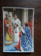 L29/120 Chromo Image Chocolat Klaus . Mariage De Louis IX Et Marguerite De Provence - Schokolade