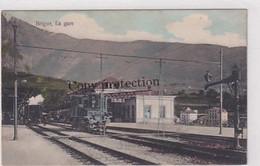 Brig - Bahnhof - 1910        (01019) - Estaciones Con Trenes