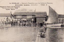 S43-003 La Tremblade - Réservoir D'Expédition Pour Les Huîtres De Marennes - Richard Siméon Ostréiculteur - La Tremblade