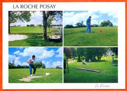 86 LA ROCHE POSAY Golf Sport Multivues Carte Vierge TBE - La Roche Posay
