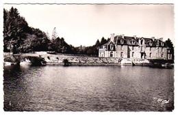 S43-006 Saint Pierre De Plesguen - Le Château Du Rouvre Avec Une Partie De L'Etang - Other Municipalities