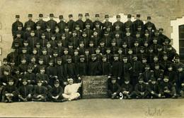 49 - CHOLET - Carte Photo De Militaires Du 77è Régiment D'infanterie - 1907 - Cholet
