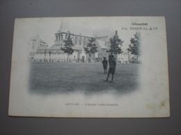 LOUVAIN  - EGLISE SAINT JACQUES - PUBL. CHOCOLAT JOS. BIESWAL - Leuven