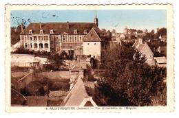 S43-020 Saint Riquier - Vue D'ensemble De L'Hôpital - Cachet Place De Moramanga Avec Une Ancre Marine Au Verso - Saint Riquier