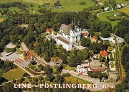 1 AK Oberösterreich * Blick Auf Die Wallfahrtsbasilika In Linz - Pöstlingberg - Luftbildaufnahme * - Linz Pöstlingberg