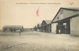 AVORD - Centre Militaire D'aviation, Ateliers De Réparations. - Aérodromes