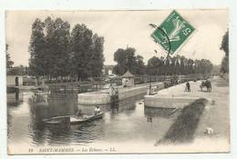 Péniches à Saint Mammès (77 - Seine Et Marne) Les écluses - Arken