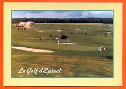 88 EPINAL Le Golf Public Architecte Michel Gayon Golfeurs Carte Vierge TBE - Epinal