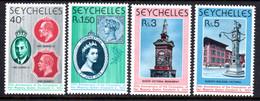 SEYCHELLES - 1978 CORONATION ANNIVERSARY SET (4V) FINE MNH ** SG 428-431 - Seychellen (1976-...)