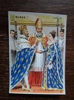 L29/128 Chromo Image Chocolat Klaus . Mariage De Henri IV Et Marie De Medicis - Schokolade