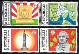 SEYCHELLES - 1978 VICTORIA ANNIVERSARY SET (4V) FINE MNH ** SG 437-440 - Seychellen (1976-...)