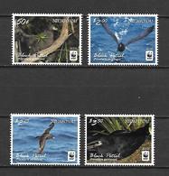 Niuafo'ou 2016 Birds - Black Petrel - WWF MNH - Sonstige - Ozeanien