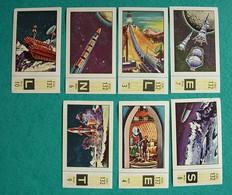 7 Images Collection NESTLE Et KOHLER Les Merveilles Du Monde Album N° 5  Série 132 N°3-4-6-7-8-9-10 Exploration Fusées - Schokolade