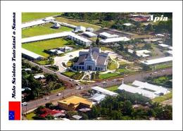 Samoa Apia Samoa Temple Aerial View New Postcard - Samoa