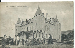 AUNAY       ( NIEVRE )      CHATEAU DE BROUIN - Otros Municipios