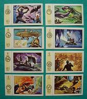 8 Images Collection NESTLE Et KOHLER Les Merveilles Du Monde Album N° 5  Série 131 N° 2-3-5-6-7-9-10-11 Spéléologie - Schokolade