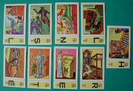 9 Images Collection NESTLE Et KOHLER Les Merveilles Du Monde Album N° 5  Série 130 N° 2-3-5-6-7-8-9-10-11 Automates - Schokolade