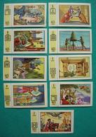 9 Images Collection NESTLE Et KOHLER Les Merveilles Du Monde Album N° 5  Série 129 N° 2-3-4-5-6-7-8-9-10 Géants - Schokolade