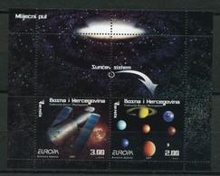 """Bosnien Und Herzegowina - Block Nr. 35 - """"Europa 2009: Astronomie"""" **/MNH (aus Dem Jahr 2009) - Europa-CEPT"""