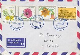 RWANDA COVER FROM GIKONDO 1983 TO KIBUNGO - 1980-89: Afgestempeld