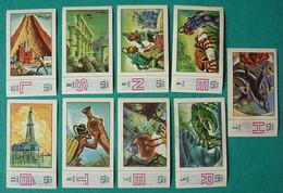 9 Images Collection NESTLE Et KOHLER Les Merveilles Du Monde Album N° 5  Série 125 N° 2-4-5-6-7-8-9-10-11 Nautilus - Schokolade