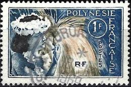 French Polynesia 1964 - Mi 33 - YT 27 ( Tahitian Dancer ) - Gebraucht