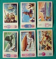 6 Images Collection NESTLE Et KOHLER Les Merveilles Du Monde Album N° 5  Séries 118 à 122 - Schokolade