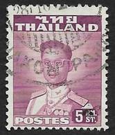 THAILANDE  1951 -  YT  272  -  Bhumibol Adulyadej   - Oblitéré - Thailand