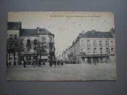 BRUXELLES - COIN DE LA RUE RIBAUCOURT ET BOULEVARD LEOPOLD II - BRASSERIE DU COMMERCE - Zonder Classificatie