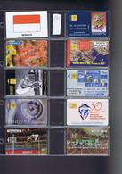 Télécartes Carte Telephonique Phonecard Monaco 9 Cartes - Mónaco