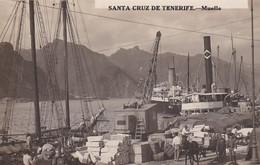 4825224Santa Cruz De Tenerife, Muelle. (tarjeta De Foto) - Tenerife