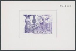 SPANIEN Bl. 29 **, 1986, Block EXFILNA In Violett, Postfrisch, Pracht, Mi. 80.- - Ohne Zuordnung