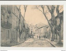 11 SAINT MARCEL AVENUE DE NARBONNE CPA BON ETAT - Other Municipalities