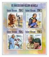 GUINE BISSAU 2013 SHEET NELSON MANDELA MOTHER TERESA NOBEL PRIZE Gb13605a - Guinea-Bissau