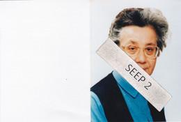 DP+foto Alisa DE SCHRIJVER (Zr. Moniek) Liedekerke 1927-1995 Itterbeek (Zuster Annonciade Van Itterbeek) - Religion &  Esoterik