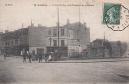 92 - GARCHES - HAUTS DE SEINE - GRANDE RUE ET LE BOULEVARD DE LA STATION - ANIMEE - VOIR SCANS - Garches