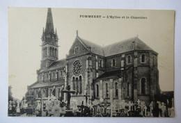 Pommeret - L'Eglise Et Le Cimetière - Altri Comuni