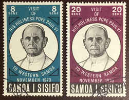Samoa 1970 Pope Visit FU - Samoa