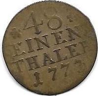 PRUSSE...1/48  THALER...1773.....TTB + - Unclassified