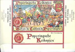 Oud Etiket POPERINGSCHE KEIKOPJES, MAES ROMMENS POPERINGHE - Labels