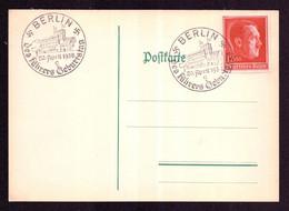 DR Postkarte BERLIN - 20.April 1938 - Mi.664 - Des Führers Geburtstag - Deutschland