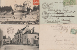 CACHET AMBULANT  Ou CONVOYEUR-  LOT  De 12 Cachets  FRANCE - LOT A - 1921-1960: Periodo Moderno