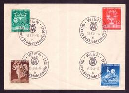 DR WIEN - 13.3.41 - Mi.768-771 - Wiener Frühjahrsmesse 1941 B - Deutschland